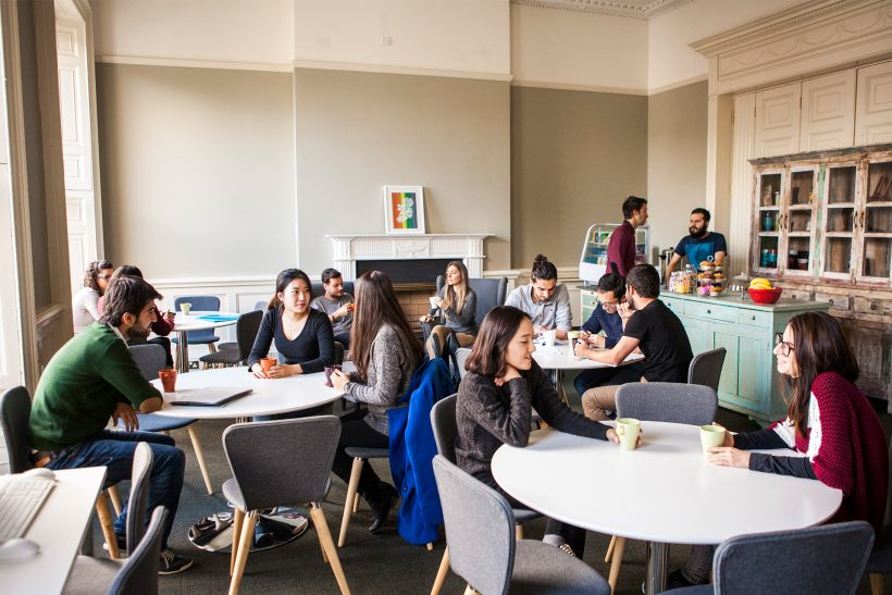 Student café